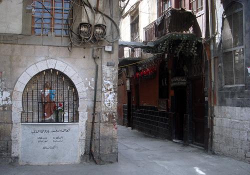 ダマスカスのキリスト教地区.jpg